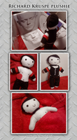 Richard Kruspe - plushie - SOLD by Eisenrose