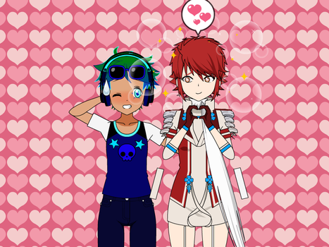 Me X Hinoka by Pikachuisawesome60
