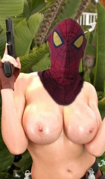 Tombraider or Spider Girl? 2 by MarcelaKury