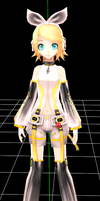 PD rin append in mmd test by KamineLover