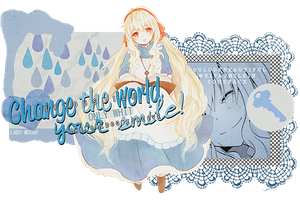 Smile! (Mary / Kagerou Project) by MochiUsUk