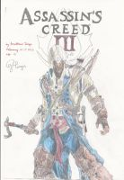 Assassin's Creed III Drawing by Amezy2000