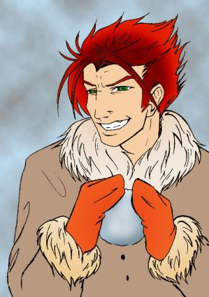 Loki's Snowball, colored
