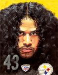 Steelers TROY POLAMALU by JohnHaunLE