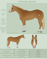 PD Firewater Special - QH by painted-cowgirl