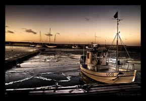 Frozen Harbour by stryder99
