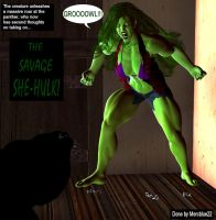Tiffani becomes She-Hulk 22zb by mercblue22