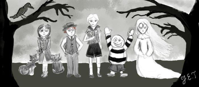 Children of Ravens Hollow by embla-chan