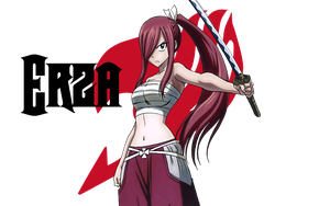 Fairy Tail (Erza) by hatofiria