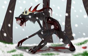 Wendigo by BrutalDyingBreed
