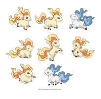 Some Chibi Rapidash