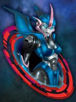 Transformers Prime : Arcee - Colour by channandeller