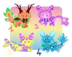 [OPEN - 2/4] Melibu Guest Artist Auction by Yoshimiko-Adopts