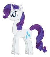Rarity by ForeshadowART