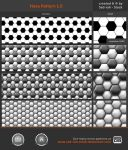Hexa Pattern 1.0 by Sed-rah-Stock