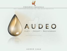 AUDEO logo by fredpsycho83
