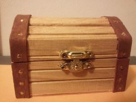 Legend of Zelda Treasure Chest by MysticalMayhemJewel