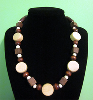 Wooden Neckchoker by BloodRed-Orchid