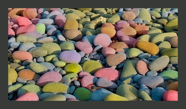 Jelly Baby Beach by sags
