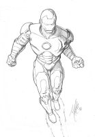 Ironman sketch by thepenciler