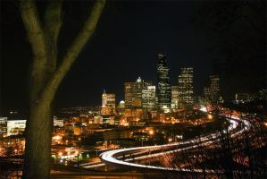 Experiments in a Seattle night by sparktography