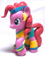 Workout Pinkie Pie Custom Toy by CadmiumCrab