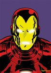 Iron Man in color by ArtNomad