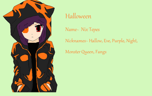 rotg oc: Halloween by axelfangirl956