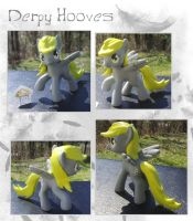 My Little Pony Derpy Hooves McDonalds Custom by kaizerin