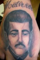 malverde tattoo by MOET14
