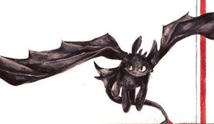 Toothless. Again. by Dreamsoffools