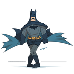I am the goddam sexy batman by Torogoz