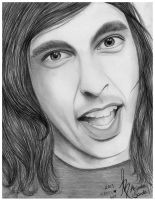 Vic Fuentes from Pierce The Veil by BandaforLove