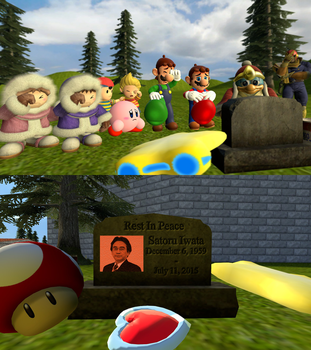 Rest In Peace, Mr. Iwata... by BriefCasey795