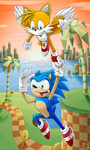 Sonic's Sightseeing-Tour by Dragendorf