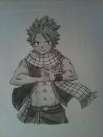 Natsu Dragneel - Fairy Tail by Snivy-R