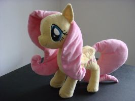Fluttershy Plushie (give away price!) by Miretz