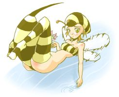 Bee Girl by Choark