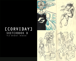 SKETCHBOOK (PDF FOR SALE) by corviday