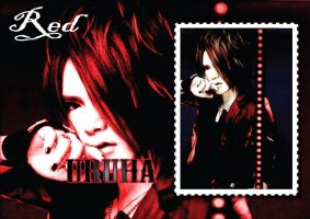 Uruha-RED-Wallpaper by Zetsunine