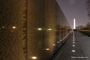 Vietnam Veterans Wall by chris-stahl
