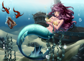 Mermaids prize (commission) by hotbento