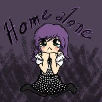 Home alone by Saku-chu
