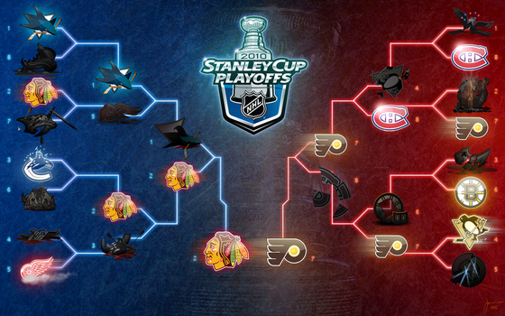 NHL PLAYOFFS - ROUND 4 by melies
