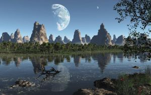 Sister Planet by uxmal750ad