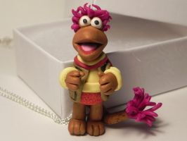 Gobo Fraggle Rock, Hand Sculpted Fraggle Rock Char by Secretvixen