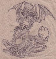 Napkin drawing by Orsonfoe