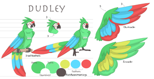 dudley character sheet by Appletail