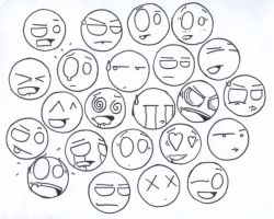Expression Wall by SneakyRaty