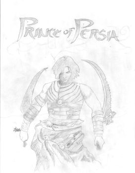 prince of persia by chinese-ranger
